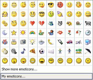 avr ns betekenis emoticons