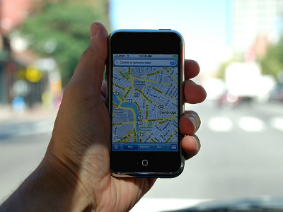 Salve mapas offline no celular