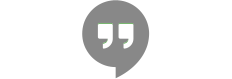Acesse o site de Google Hangouts